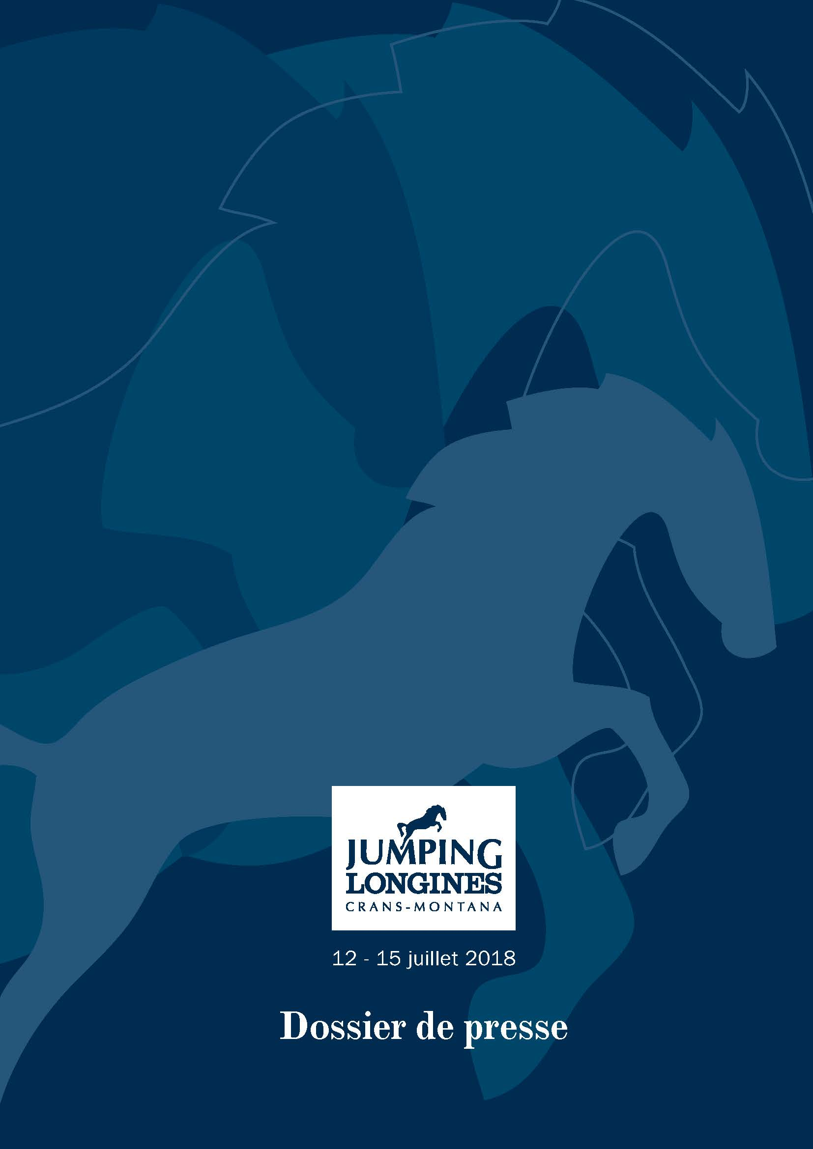 Couverture Dossier Presse Jumping Longines